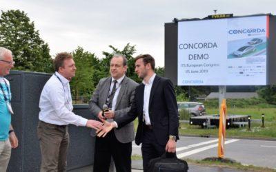 CONCORDA LIVE DEMOS AT THE 13TH ITS EUROPEAN CONGRESS